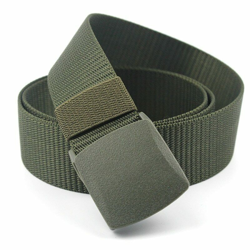 Automatic nylon belt buckle military fans tactical canvas Grade Polymer Begie