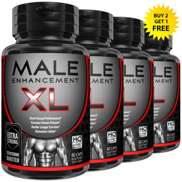 MALE ENHANCEMENT XL THICKER, LONGER, BIGGER, MAX GIRTH DICK ENLARGEMENT PILLS