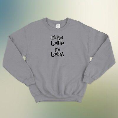 It/'s Leviosa Not Leviosa Harry Potter Deathly Hallows Gift Jumper Sweatshirt Top