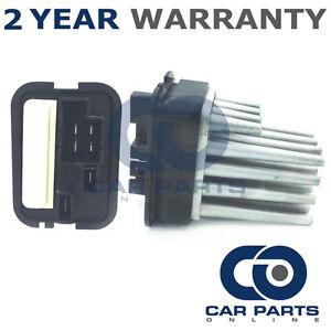 Per-Vauxhall-Astra-H-TwinTop-Benzina-1-6-MK5-2006-10-Soffiatore-Riscaldatore-Ventilatore-Resistore