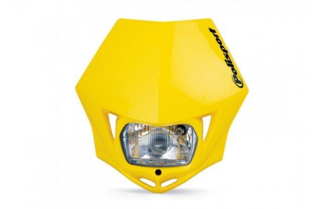 DOT Approved Polisport MMX Yellow Headlight Suzuki DRZ400S etc 75-866-35Y