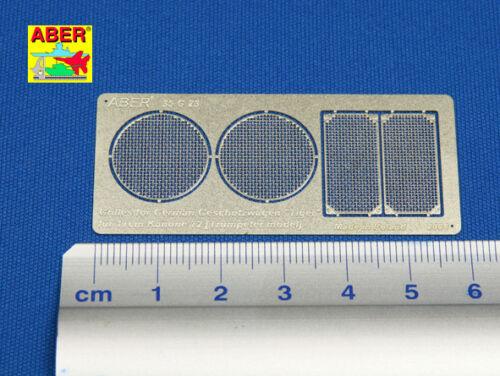 1//35 ABER 35 G23 GRILLES for GERMAN GESCHUTZWAGEN VI TIGER for TRUMPETER kit