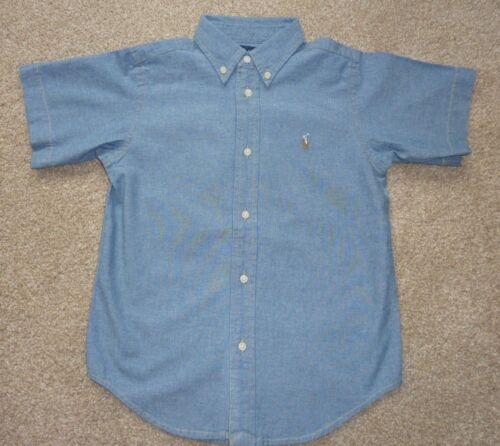 Boys Designer Clothing Blue Ralph Lauren Shirt 6 years BRAND NEW present idea