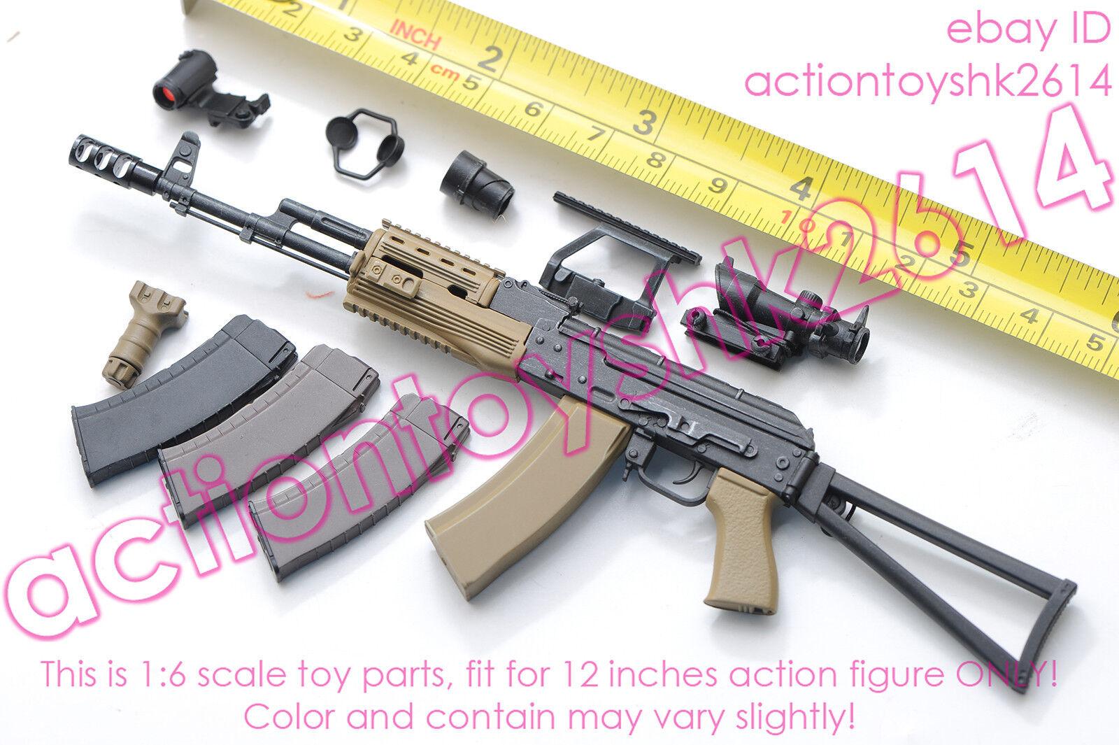 1/6 Scale VTS Toys VM-018 THE DARKZONE AGENT RENEGADE - AK74M