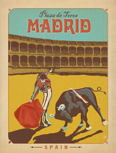 Image result for Madrid antique posters