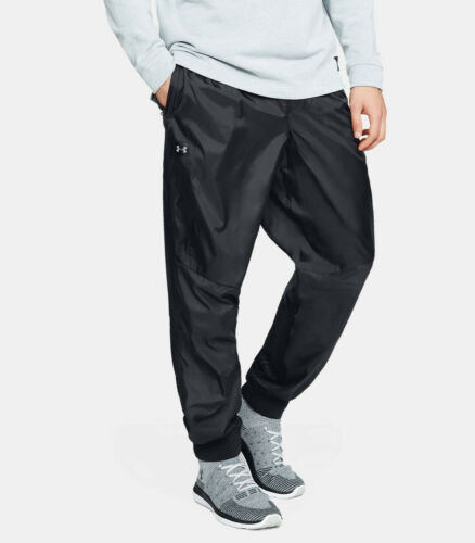 UNDER ARMOUR Men/'s UA Unstoppable Wind Pants NWT Black SIZE LARGE FREE SHIPPING
