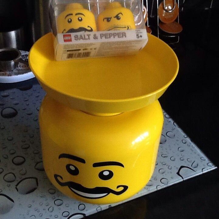 Lego Balance de cuisine et poivre et sel Set Tout Nouveau