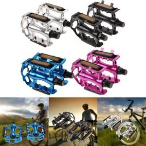 1-Pair-Aluminium-Alloy-Mountain-Road-Bike-Bicycle-9-16-034-Flat-Bearing-Wide-Pedals