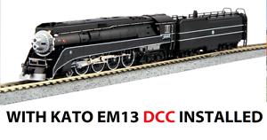 Kato 126-0312   DCC n 4-8-4 GS4 con  EM13  DCC instalado BNSF Excursión