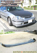 SiR-Style Front Lip (Urethane) Fits 96-98 Civic 2dr