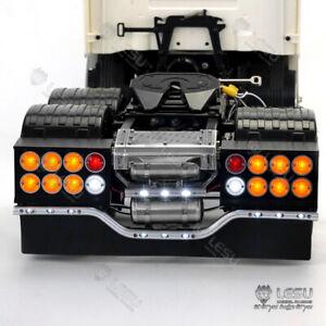 LESU TAMIYA SCANIA R470 R620 1//14 RC Tractor Truck Trailer Metal Exhaustor