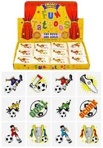 Children-Kids-Girls-Boys-Football-Temp-Tattoos-Party-Bag-Birthday-Pinata-Filler