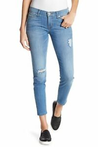 31 Hudson Jean Super Crop 189 30 Krista Mager Status I Sz Distressed Jeans 6TnW6rxYP