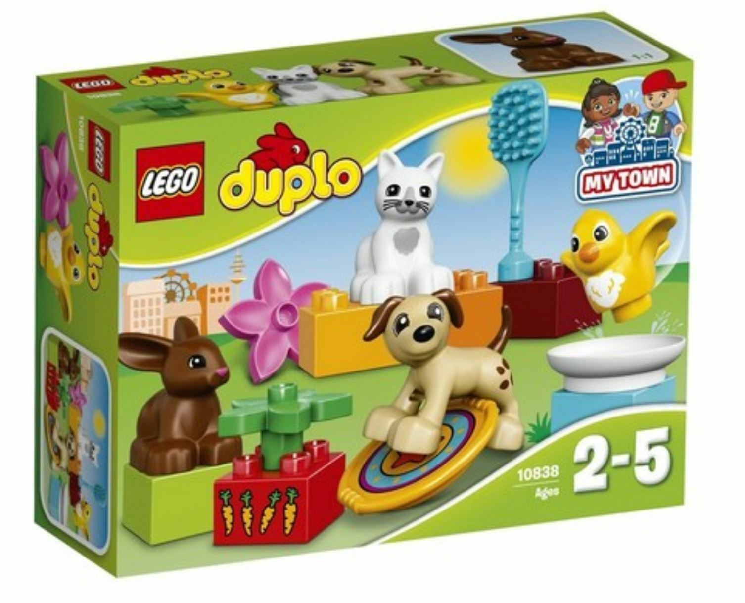 [LEGO] Duplo 10838 Creative Play Town Family Pets Pets Pets Set 2017 Version Free Shipping 28c6c1
