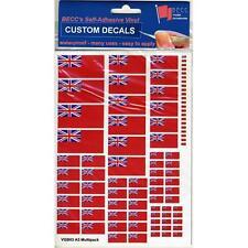 GB Red Ensign Vinyl Flags Multi Pack