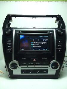 toyota camry 2012 2013 reproductor de cd mp3 xm 57012 bluetooth rh ebay com 2012 Hyundai Elantra Manual Interior Hyundai Ix35 2012 Interior Manual