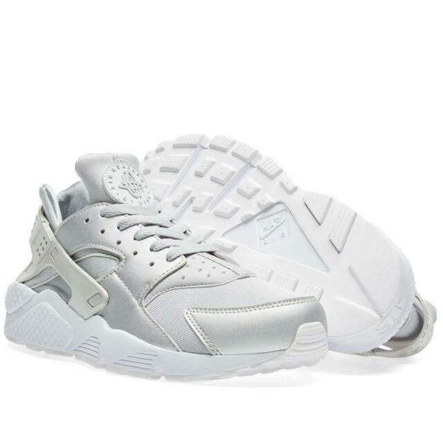 Nike Air Huarache Run Prm Silber