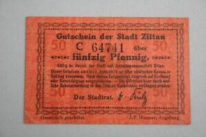 Zittau-50-Pfennig-o-D-bis-1-4-1918