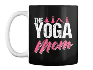 The Yoga Mom Namaste Meditation Gift Coffee Mug