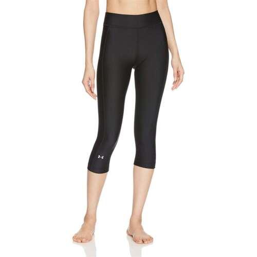 Under Armour Women's Athletic Heatgear Armour Comfortable Fit Capris NEW