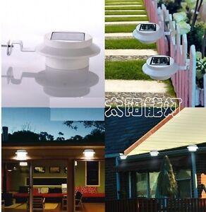 3-LED-Solar-Powered-Fence-Gutter-Light-Outdoor-Garden-Yard-Wall-Pathway-Sun-Lamp