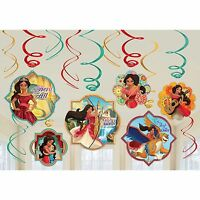 Latino Princess Elena Of Avalor Hanging Swirl Decoration Birthday Party Supplies