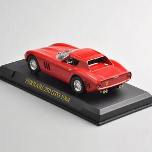 LEGA-SCALA-1-43-modello-di-auto-da-corsa-COLLETION-Toy-Ferrari-250-GTO-1964-Diecast