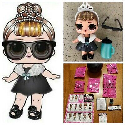 LOL Surprise Doll Clothes Set Confetti Pop Big Sister VACAY BABAY Series 3-026