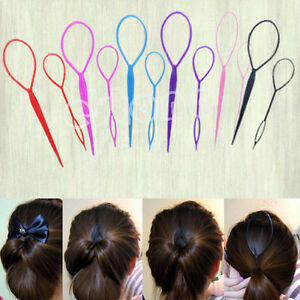 topsy hair braid ponytail maker styling tool 2pcs topsy hair braid ponytail maker styling tool ebay 4968