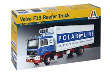 Italeri 3893 1/24 Scale Model Plastic Car Kit Volvo F-16 Reefer Truck F16 Lorry