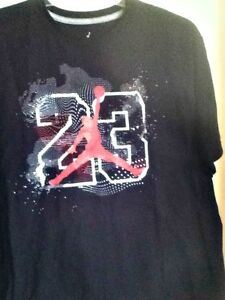 t shirt air jordan nera