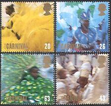 GB 1998 Carnival/Europa/Costumes/Dancing/Dance 4v set (n21487)
