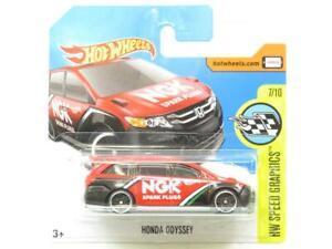 Hotwheels-Honda-Odyssey-Speed-Graphics-58-365-Short-Card-1-64-Scale-Sealed-New