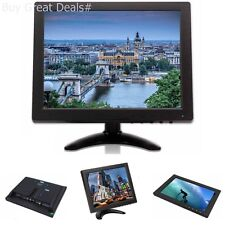 10 Inch 1024x768 TFT LCD Color BNC VGA HDMI Tpekka Monitor Screen Video