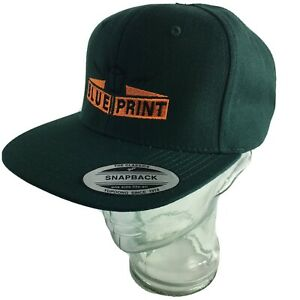 Blueprint-Skateboards-skateboard-Hat-Cap-Green-Snapback