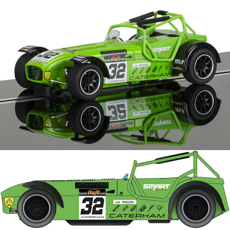 SCALEXTRIC Slot Car C3871 Caterham Superlight Lee Wiggins