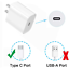miniature 2 - Wholesale 20W PD Fast Power Adapter USB-C to iPhone Charger Cable For Apple 12 8