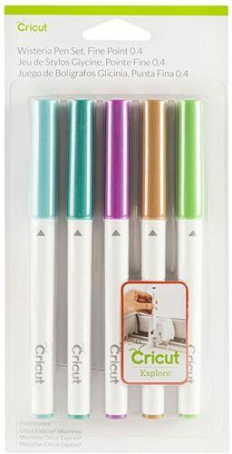 Cricut Pen 5 pc set for Explore /& Maker Machines WISTERIA 2003976