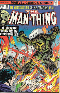 Man-Thing-Comic-Book-17-Marvel-Comics-1975-VERY-FINE