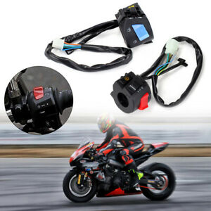 Motorcycle-Motorbike-Universal-Switch-Light-On-Off-Indicator-Controls-Bar