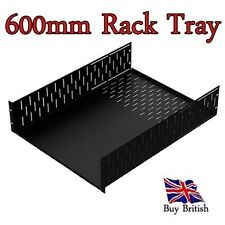 """2U 19"""" Deep Rack Tray ( 600mm ) for Servers, Amps, Projects,etc"""