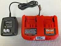 Black & Decker Firestorm Fs240dc Dual Port 24v Battery Charger Hpb24 Hpnb24