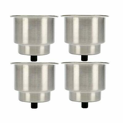 free shipping Stainless Steel Cup Drink Holder Marine Boat RV Camper 10pcs
