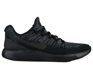 Men's Nike Lunarepic Low Flyknit - Black - 63779004 - Size 10.5