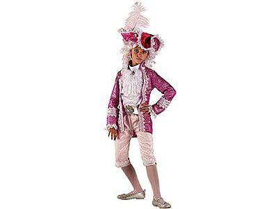 Rispettoso Vestito Costume Carnevale Marchesa Regina Principessa 6 7 8 Anni