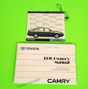 Image Is Loading 1996 Toyota Camry Owners Manual Owner 039 S