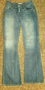 BKE-BUCKLE-RAIDER-LONG-Distressed-New-Boot-cut-Jeans-29-x-33-1-2