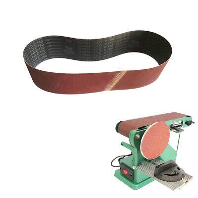 "3 Pack 240//320//400 Polishing Sanding Belts Grit Grinding Aluminum Oxide 4/""x 36/"""