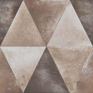Caden-Metallique-Papier-Peint-Geometrique-Taupe-Muriva-152502-Neuf