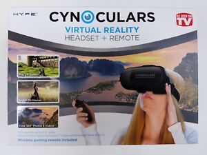 a1723d17878d Image is loading Cynoculars-Virtual-Reality-Headset-and-Remote-AS-SEEN-
